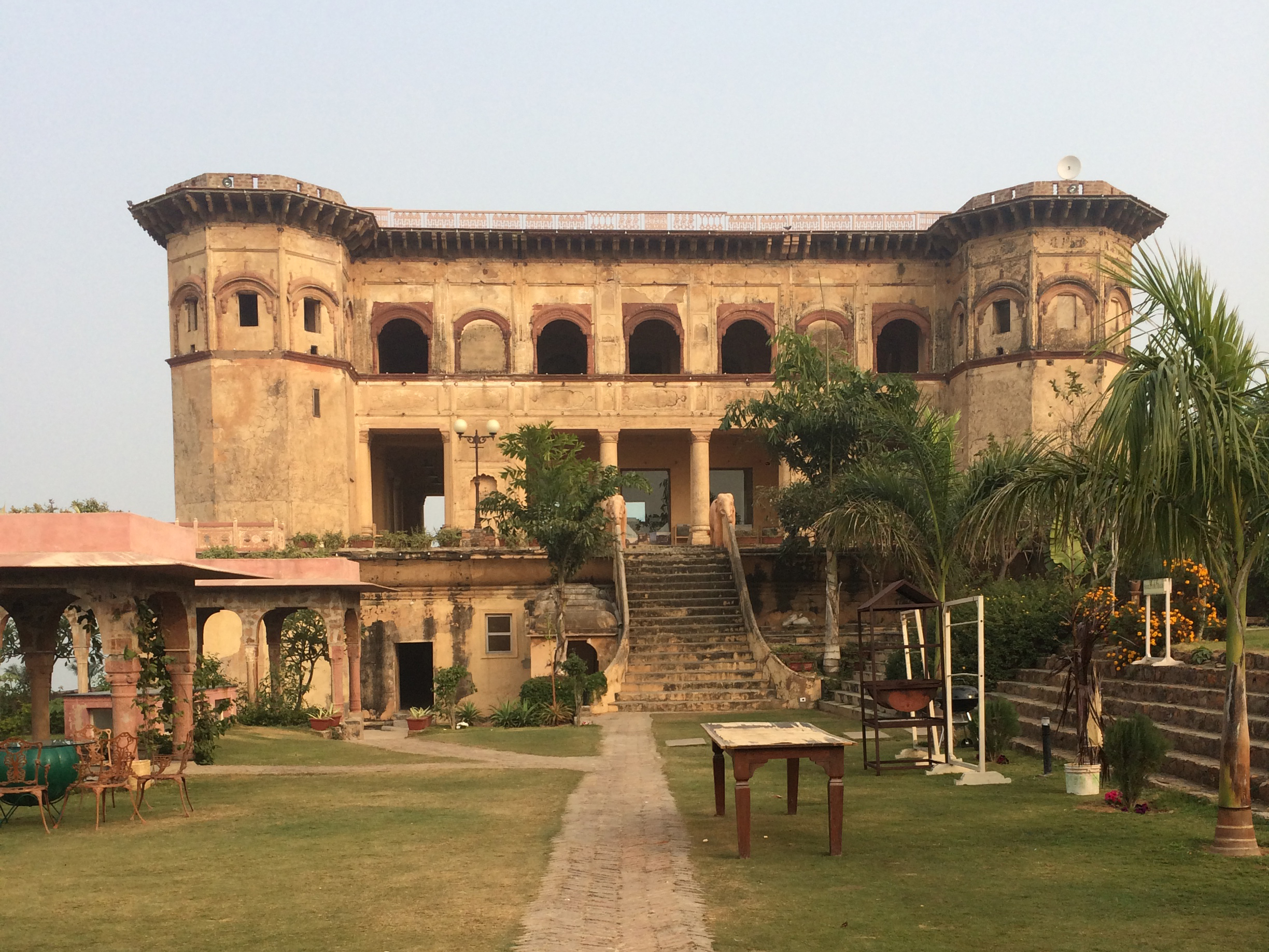 Tijara Fort-Palace: History gets a fresh lease of life