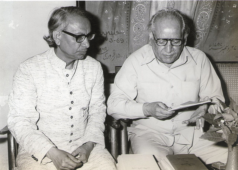 In the company of Faiz Ahmed Faiz