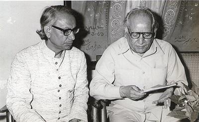 In the company of Faiz Ahmed Faiz