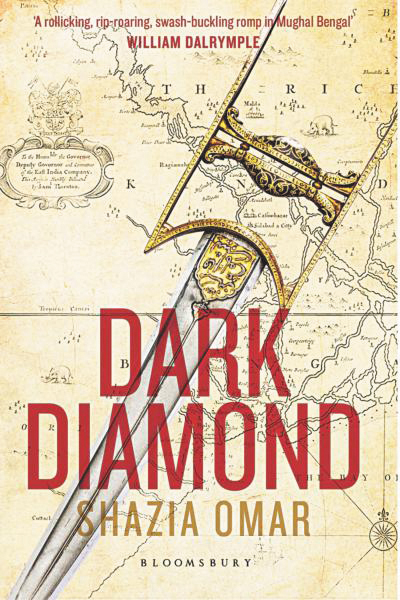 Shazia Omar's Dark Diamond: A riotous ride on a time machine