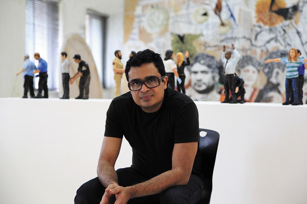 Jitish Kallat's works amaze the senses, challenge the mind