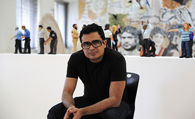 Jitish Kallat's works amaze the senses, challenge the mind