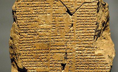 Extracts from Gilgamesh Retold and other poems