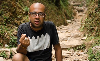 Prajwal Parajuly takes roads less  travelled