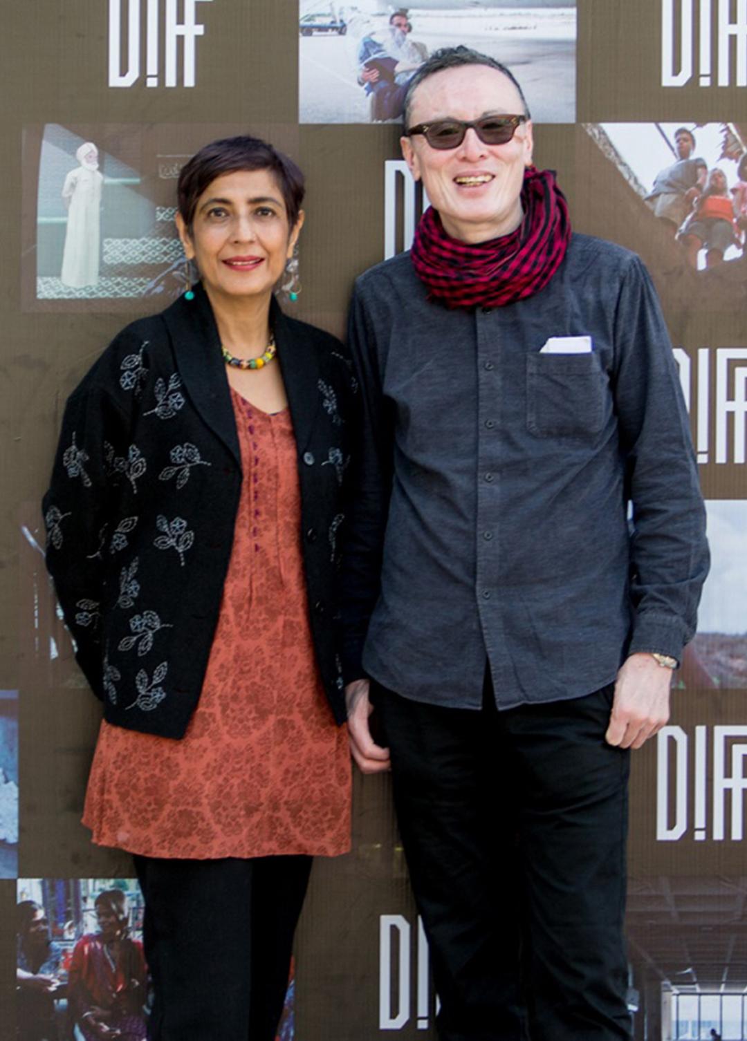 Ritu Sarin and Tenzing Sonam on Dharamshala International Film Festival