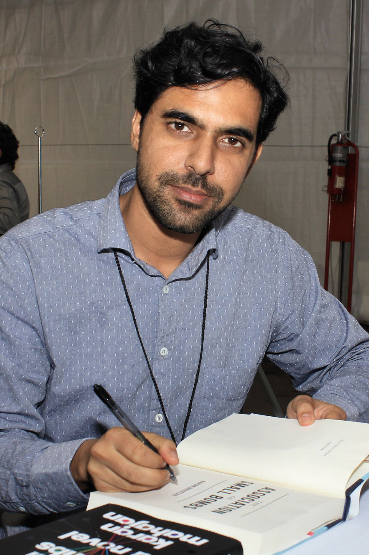 I'm a visual writer: Karan Mahajan