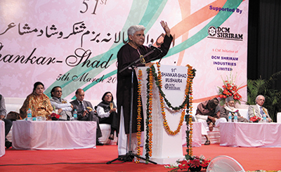 52nd Shankar-Shad Mushaira today; no poet from Pakistan invited