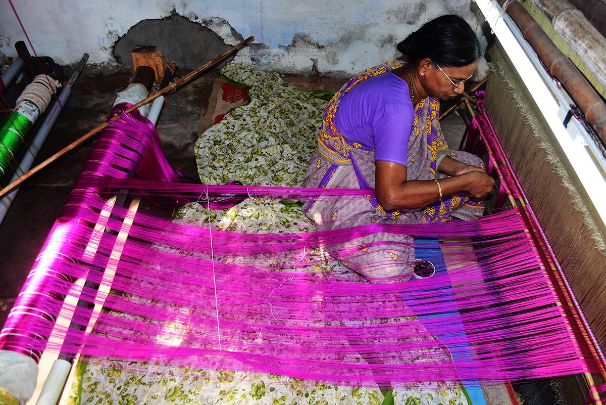 The weavers of Onnupuram