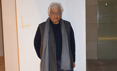 I enter the unknown spontaneously: Vivan Sundaram