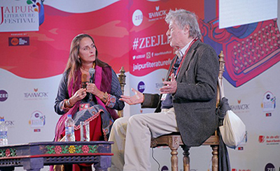 JLF Diary: Raconteurs regale  audience with wit & wisdom