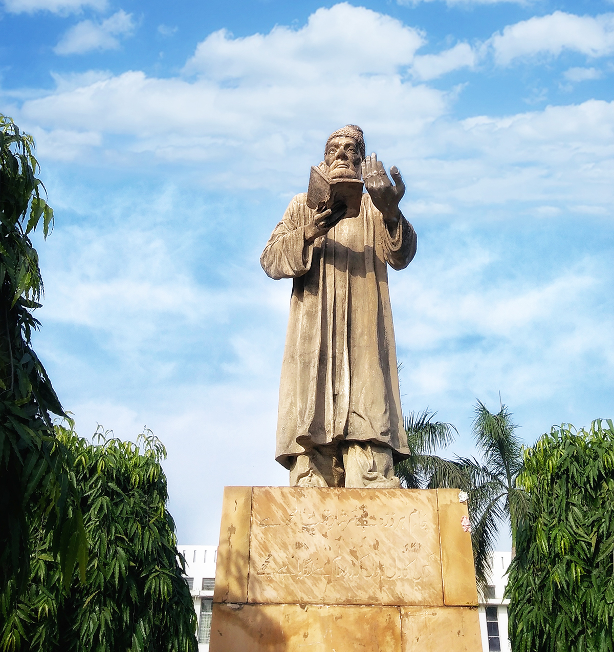 Mirza Ghalib at Jamia Square