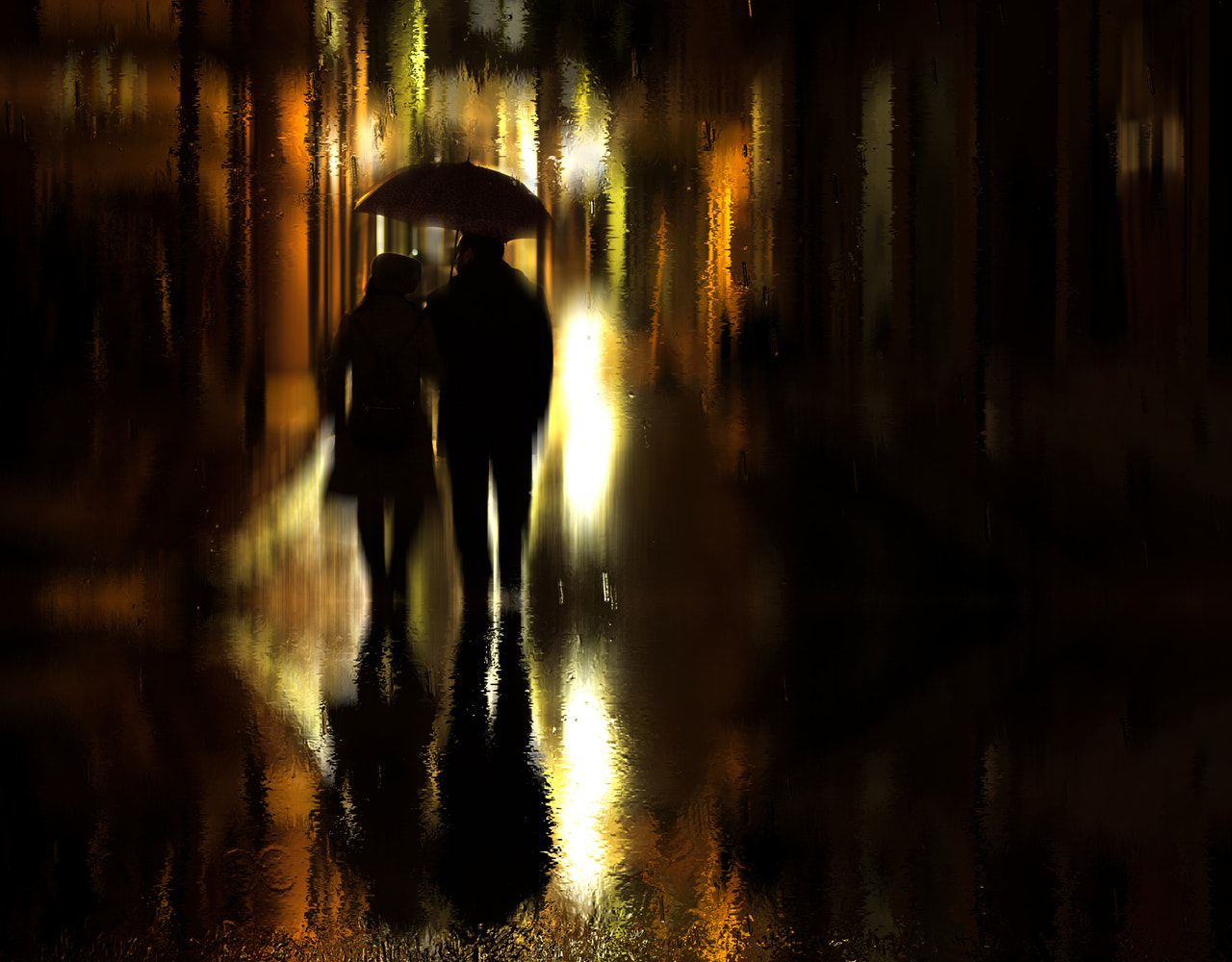 The Night it Rained in the City and other poems
